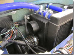 Heater with lower vents installed - Click for larger image