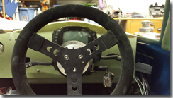 Fibreglass arch to cover digital dash - Click for larger image