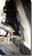 Ford electronic speedo sensor shown on Type 9 gearbox (Slaved in position, not fitted) - Click for larger image