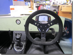 Finalising the dashboard fitting - Oil pressure gauge, digidash selector switch and switch panel - Click for larger image