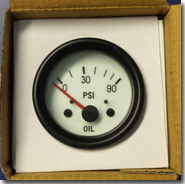 Oil pressure gauge - Click for larger image